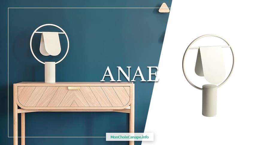 Lampe design et graphique Anae