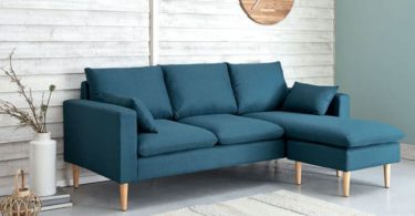 canapé d'angle pour petits salons