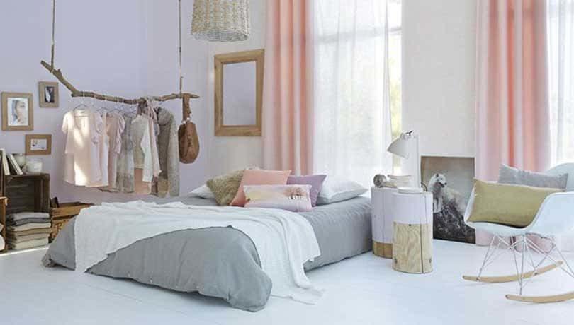 Idée de chambre de style scandinave