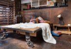 Chambre style atelier industriel