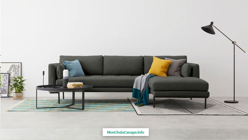 Canapé d'angle Harlow de Made