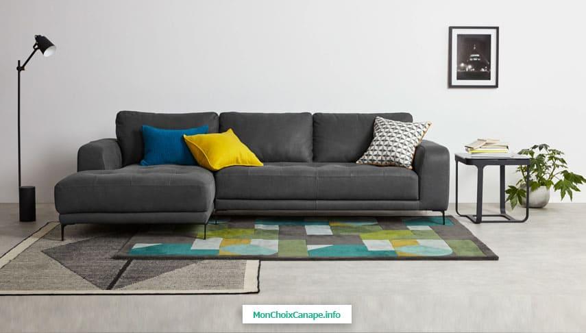 Canapé d'angle Luciano de Made