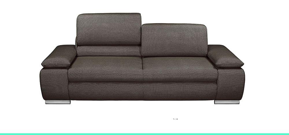 Canapé 3 places avec têtière Masca