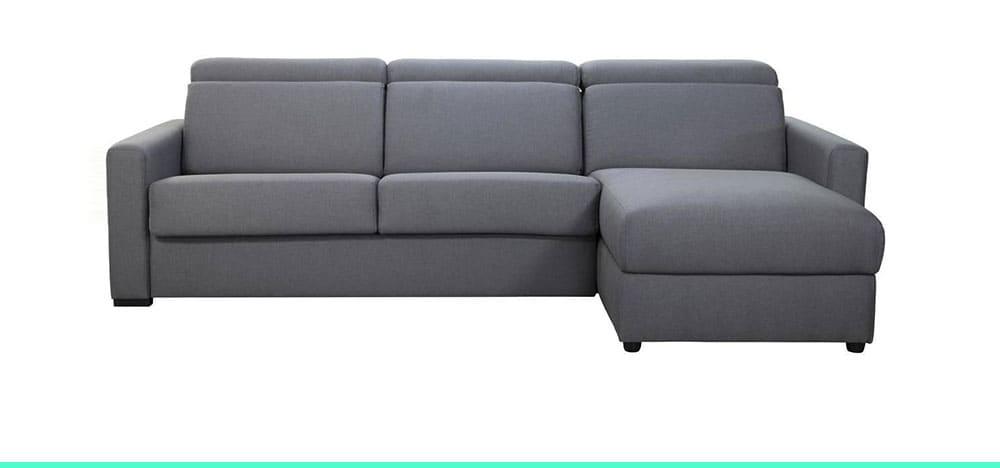 Canapé convertible avec têtière Noro