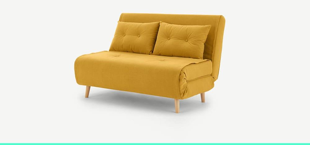 Canapé 2 places sans accoudoir Haru